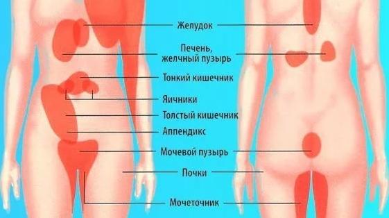 Тянущие и острые боли справа в низу живота thumbnail